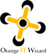 Orange IT Wizard Logo